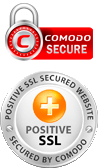 Comodo SSL secured https trusted website